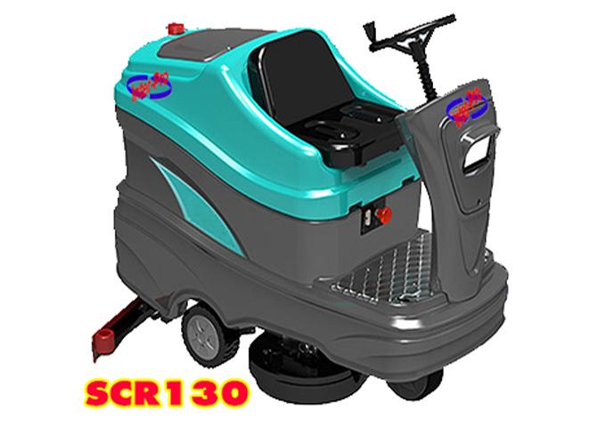 เครื่องขัดพื้นอัตโนมัติ นั่งขับ รุ่น SCR130